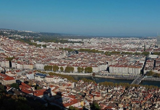 #lyon #fourviere #citybreak #rhonealpes #france #bluesky #panorama